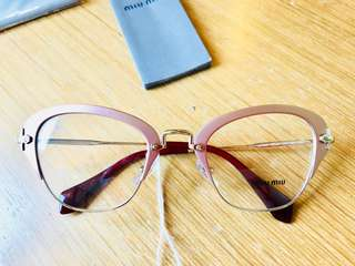 Miu miu original with case, cloth, tags
