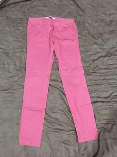 Giordano pink pants