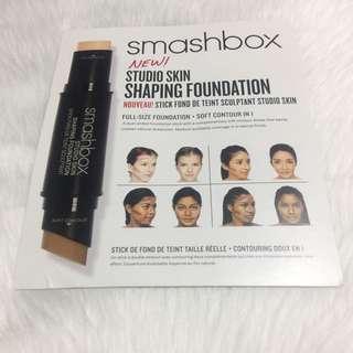 Smashbox founation sampler