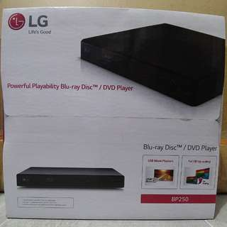 LG Blu Ray Disc / DVD Player
