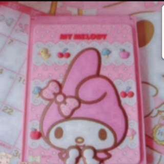 In Stock Sanrio My Melody Mirror For Desktop And Portable Size is 11 × 15cm