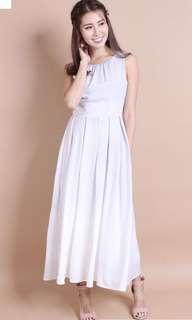 Neonmello ombré maxi dress