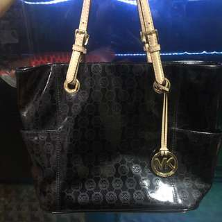 Michael kors original black glossy