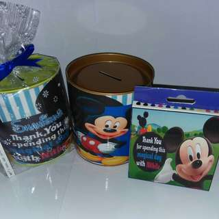 Customised Mickey Mouse Theme Goodie Pack