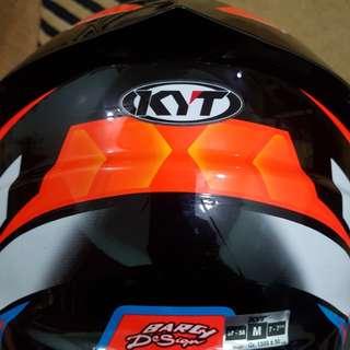 KYT NFR fullface helmet
