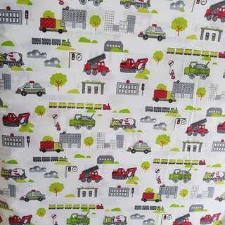 Bedsheet Cotton - Construction and Emergency Vehicles