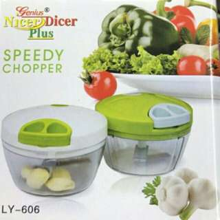 Kiychen spiral speedy chopperdicer meat fruit cutter