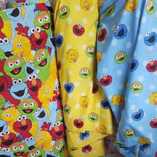 Bedsheet Cotton - Elmo & Friends