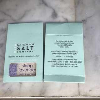 Bath salt from San Francisco.  99g/packer