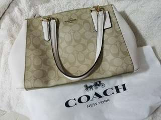 Coach Christie Carryall in Siganture - Small