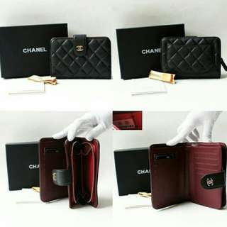 PO chanel caviar /lambskin ladies short wallet *Waiting time 2 to 3 days after payment is made *pm to order