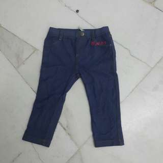 Jeans Tights for Baby Girl (PONEY)