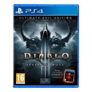 PS4 Diablo 3 Reaper Of Souls