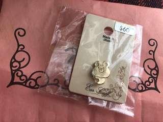 [包郵]日本製 熊仔耳夾
