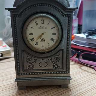 Antique Royal Selangor Clock