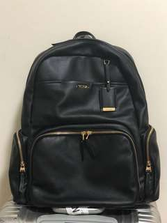 Tumi full leather backpack
