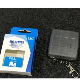 JJC 4SD + 4Micro SD Cards Case