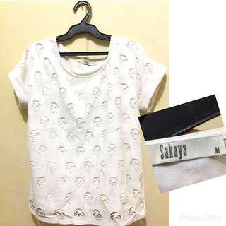 Pre loved Sakaya blouse