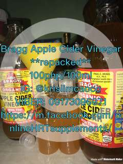 BRAGG APPLE CIDER VINEGAR REPACKED