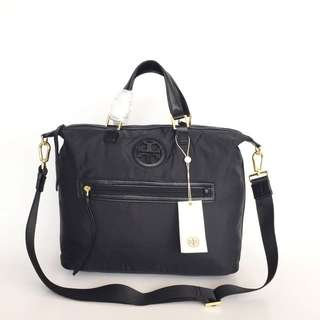 Tory Burch Nylon Slouchy Satchel