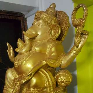 "Ganesha/Pikanet 17"" inches big bucha"