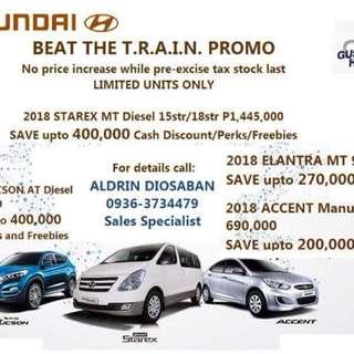 Hyundai Big Discounts!!!