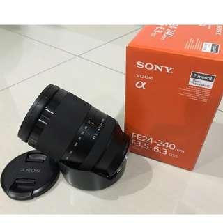 Sony, 24-240mm, F3.5-6.3, OSS