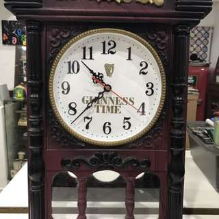 Vintage Clock Guinness Time