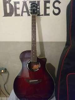 Gitar apx yamaha 500 II