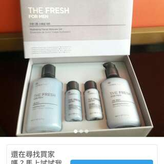 Face Shop The Fresh for Men~Hydrating Facial Skincare Set(from korea)