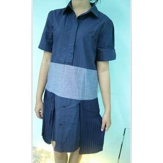 Dress Denim Blue