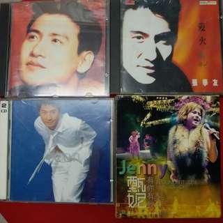 3隻CD十甄妮一隻卡拉0K