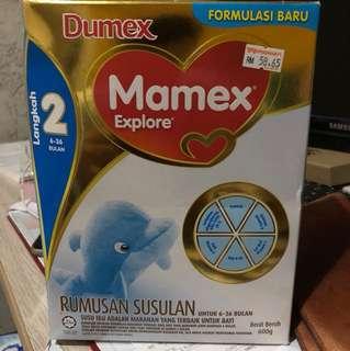 Mamex Dumex Langkah 2 6-36 bulan