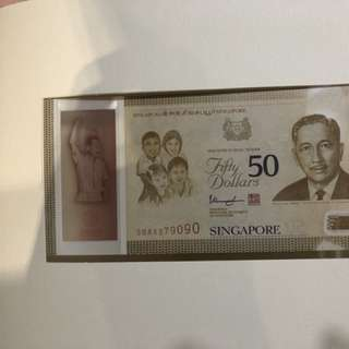 SG Commemorative notes
