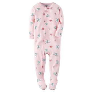 BNWT Carter's Footed Sleepsuit