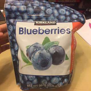 Blueberry whole dried 567g 藍莓乾