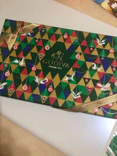 Godiva holiday Assorted chocolate care box 15 pcs