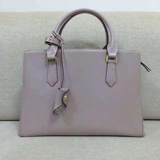 BN Samantha Thavasa Structured Work Bag in Nude Pink
