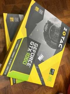Zortac 1060 6GB mining gpu x2 unit