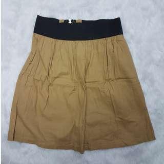 Brown Skirt Garter Brown