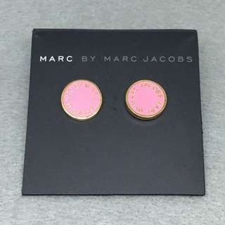 Marc Jacobs Sample Earrings 粉紅色配金色耳環