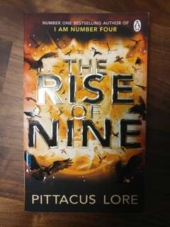Lorien Legacies: The Rise of Nine by Pittacus Lore