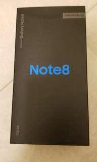 (行,全套有保) 三星Note 8 黑色(128 GB)