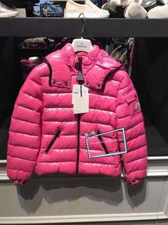 Moncler 小童12 碼 桃粉紅色bady