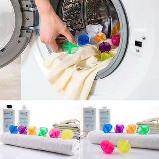 3pc Laundry Cleaner Wash Ball Bola Pencuci Pembersih Pakaian