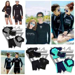 Couple Rashguard set