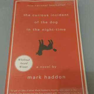 Mark haddon novel #umn2018