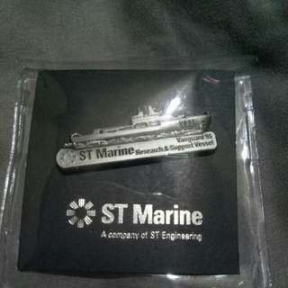 Pin Collection of ST Marine vessel