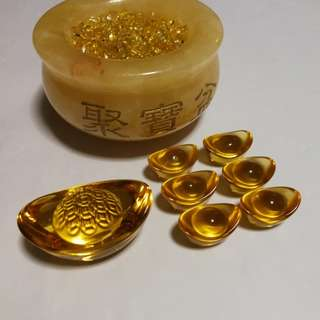 Lucky wealth bowl 聚宝盆