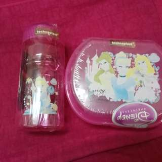 Princess Lunch Box & Water Bottle